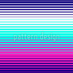 Listras de geometria de néon Design de padrão vetorial sem costura