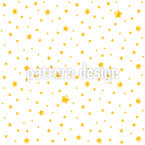 Cute Little Stars Pattern Design