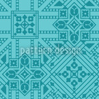 Persepolis Dream Vector Pattern