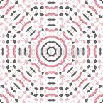 Tesselação fragmentada Design de padrão vetorial sem costura