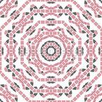 Trabalho de tesselação Design de padrão vetorial sem costura