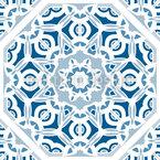 Mosaik Arbeit Nahtloses Vektor Muster
