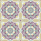 A Sense Of Calm Seamless Vector Pattern Design