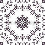 華やかなジェントルブリーズ シームレスなベクトルパターン設計