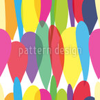Multi Balloons Seamless Vector Pattern Design