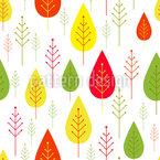 Minimalistische Bäume Rapportiertes Design
