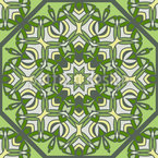 Orientale Sechziger Muster Design