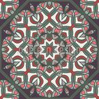 Orientalische Schönheit Vektor Ornament