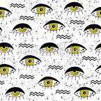 All Eyes On You Seamless Pattern