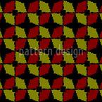 Edged Circles Seamless Vector Pattern Design