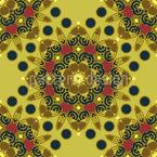 Floral Rosette Vector Design
