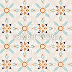 Floral retro fantasy  Seamless Vector Pattern Design