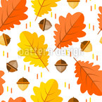 Colorful Autumn leaves Repeat
