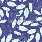 Botanical Leaves Repeating Pattern