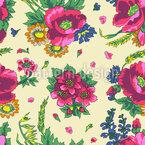 Ukrainischer Blumenschmuck Vektor Ornament