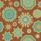 アラビア語の空 シームレスなベクトルパターン設計