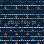 The sea is calling Seamless Pattern