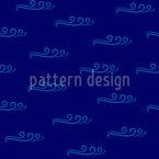 Wellen am Meer Vektor Muster