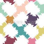 Têxtil macio Design de padrão vetorial sem costura