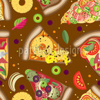 Pizza Himmel Vektor Design