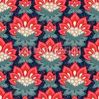 Jacobean Roses Repeat Pattern