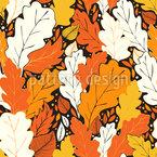 Hallo Herbst Nahtloses Vektormuster