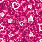 Hearts And Bows Vector Design