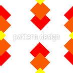 Quadratische Tropfen Muster Design