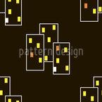 Nacht-Megacity Designmuster