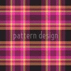 縞模様の格子縞生地 シームレスなベクトルパターン設計