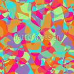 Overlapping And Divided Seamless Vector Pattern Design