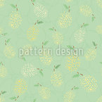 Lemon sorbet Seamless Vector Pattern