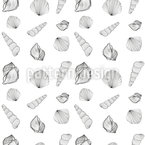 Seafood and shells Vector Design