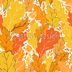 Herbst Grüße Nahtloses Vektormuster