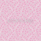 Dress From Branches Seamless Pattern