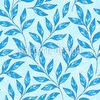 Mosaik Der Blättern Vektor Muster