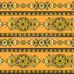 Ethno String Seamless Vector Pattern Design