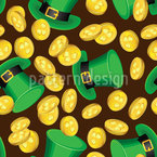 Saint Patrick From Ireland Repeating Pattern
