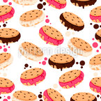 Ice Cream Cookies Pattern Design