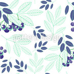 Mountain Ash Characteristics Vector Design
