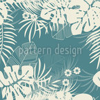 Tropical Holiday Repeat Pattern