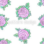 Rose Mood Seamless Vector Pattern Design