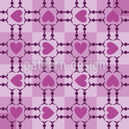 Heart Dirndl Design Pattern
