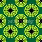 Inside Oval Dots Pattern Design