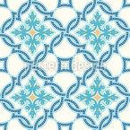 Portuguese tile mosaic Vector Design