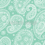Sommer-Paisley Vektor Muster
