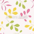 Fantasie-Blätter Muster Design