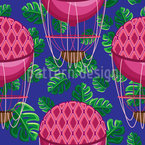 Adventure with Hot Air Ballooning Repeating Pattern