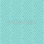 Winded Ogee Border Vector Pattern