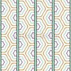 Die Felder Druchstreifen Muster Design